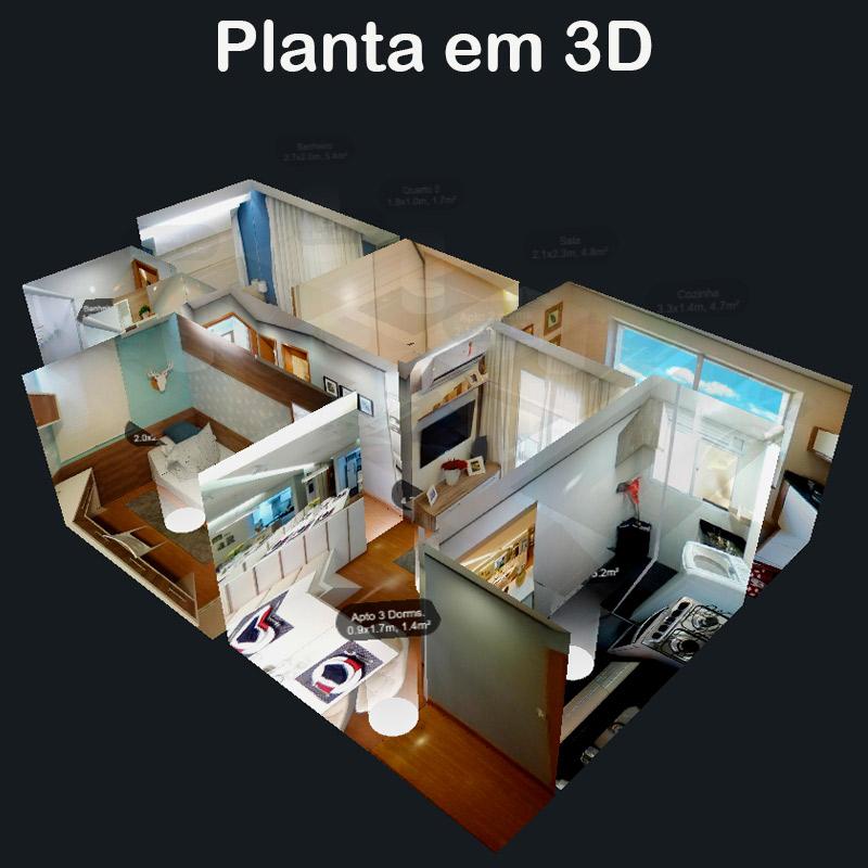 Tour 360 Planta 3D